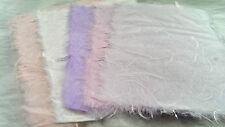 5 pcs Handmade Mulberry Paper/Unryo Pastels/ 9x12cm pieces/Deckled edges