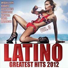 Latino 2012 Greatest Hits, Vol. 3 New CD