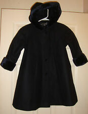 STEPHANIE/MATHEWS~girl's~GORGEOUS/WINTER/WOOL/FAUX/FUR/TRIM/COAT! (4) N/W/TAGS!@