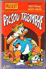 ¤ MICKEY PARADE n°1275 bis ¤ EO 1976 ¤ PICSOU TRIOMPHE