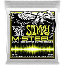 Ernie Ball 2921 Slinky M-Steel Electric Guitar Strings 10-46 gauge