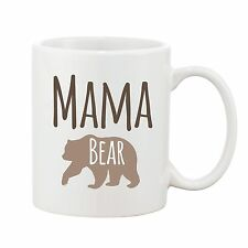 Mama Bear Mug Mothers Day Mum Present Novelty Gift Ceramic Coffee Cup 10oz