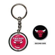 Chicago Bulls 2-Sided Spinner Key Chain Ring by Wincraft