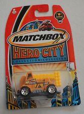 Brand New On Card Hot Wheels Hero City Emergency Power Truck w/ Arm #68