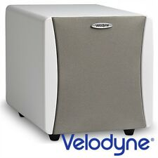 VELODYNE Acoustics Impact Mini High-End Aktiv Gehäuse SUBWOOFER weiß max 300Watt