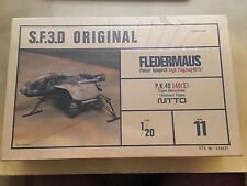 SF3D Original Nitto (Ma.K) 1/20 #11 Fledermaus P.K.40 Model Kit