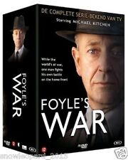FOYLES WAR COMPLETE SERIES - 1 2 3 4 5 6 DVD New Sealed R2 UK Compatible foyle's