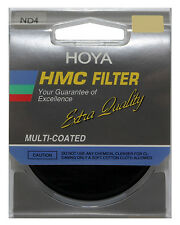 NEW Hoya Japan Multi-Coated HMC ND4 58mm Filter Neutral Density NDx4 Filter 58mm