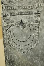 True Religion Ricky Relaxed Straight Jeans sz 34 New with Tags Authentic Retail