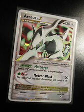 NM Pokemon ARCEUS LV.X Card Black Star PROMO Set DP56 Ultra Rare Tin Holo TCG