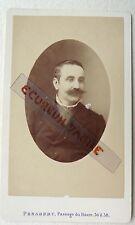 CDV PHOTO PENABERT à PARIS FAMILLE FAGOT GRANDHOMME HOMME 1881 M581
