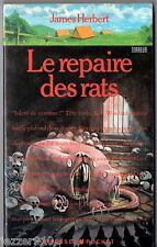 JAMES HERBERT # LE REPAIRE DES RATS # 1989 pocket terreur