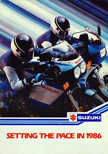Suzuki Sales catalogue GSX750R 250 500