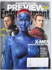 X-MEN DAYS OF FUTURE PAST April 2014 EW Mag  SUMMER PREVIEW ISSUE