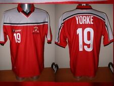 Trinidad & Tobago Power Yorke Adult M Soccer Football Jersey Man Utd 2000 Top