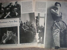 Photo article profile rising star Paris fashion Hubert de Givenchy 1952 My Ref R