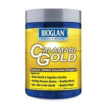 Bioglan Calamari Gold 1000mg 50 Capsules - Premium DHA Rich Omega-3