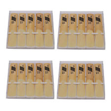 New 4 Box of 10 Eb Alto Sax Saxophone Reeds 2 1/2 2.5 Total 40pcs