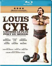 Louis Cyr: L Homme Le Plus Fort Du Monde  Blu-Ray NEW