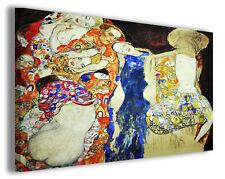 Quadro moderno Gustav Klimt vol XII stampa su tela canvas pittori famosi