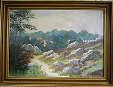 VICTOR HARTNACK! SCENE FROM LISTED ON THE ISLAND BORNHOLM. NO RESERVE