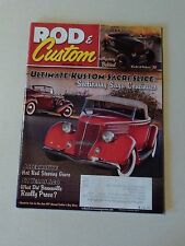 Rod & Custom 2012 December 1964 Olds 88 Holiday Coupe 1937 Buick Century 32 Ford