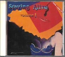 CD COMPIL 11 TITRES--STAYING ALIVE VOL.1--WARD/LIME/BOULE NOIRE/VOGGUE/MUSIQUE..