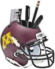 MINNESOTA GOLDEN GOPHERS NCAA Schutt Mini Football Helmet DESK CADDY
