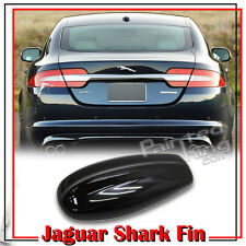 Painted Pure Black Shark Fin Dummy Decoration Antenna JAGUAR Style All Vehicle