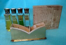 True Vintage Lucien Lelong Four Colognes Balalaika Tailspin Indiscret Sirocco