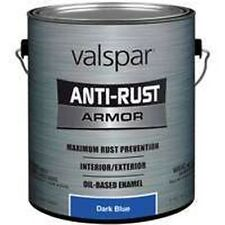 NEW GALLON VALSPAR 0776948 DARK BLUE ANTI-RUST INDUSTRIAL ENAMEL OIL PAINT