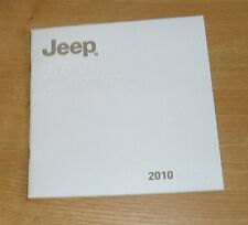 Jeep Grand Cherokee Range Brochure 2010 - 3.0 CRD Limited Overland 6.1 SRT-8