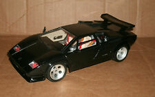 1/18 Scale Lamborghini Countach Diecast Model - 1988 Black Exotic SupercarCar