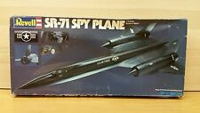 Revell 4414 SR-71 Spy Plane Plastic Model Kit Open 1/72 Scale 1981