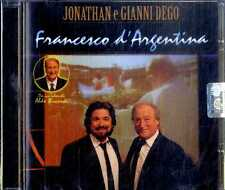 JONATHAN e GIANNI DEGO Francesco d'Argentina CD NEW SEALED
