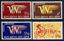 VIETNAM, SOUTH Sc#C1-4 1952 First Airmail Issue MNH