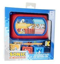 Sonic The Hedgehog Nintendo 3DS/ DSi DS Lite 6-in-1 Accessory Pack Case Stylus