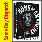 "Sons of Anarchy The Complete Seasons Series 1 2 3 4 DVD Box set 1 - 4 ""dent sale"