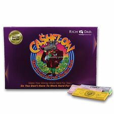 New CASHFLOW 101 Boardgame Rich Dad Investing Game Robert Kiyosaki -Free Ship US