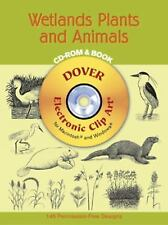 Dover Electronic Clip Art: Wetlands Plants and Animals by Mallory Pearce...