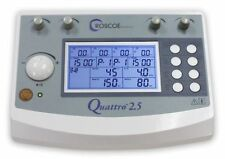 QUATTRO 2.5 4-CHANNEL ELECTROTHERAPY MUSCLE STIMULATOR TENS EMS Roscoe Medical