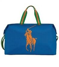 RALPH LAUREN BIG PONY LARGE BLUE WEEKEND/ TRAVEL / DUFFLE BAG - NEW