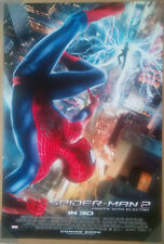 AMAZING SPIDER-MAN 2 MOVIE POSTER 2 Sided RARE ORIGINAL 27x40 ANDREW GARFIELD