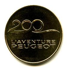 25 SOCHAUX Peugeot 200 ans, 2010, Monnaie de Paris