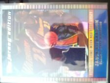 2002-03 Topps Jersey Edition Jason Richardson Authentic Game-Worn Road Jersey