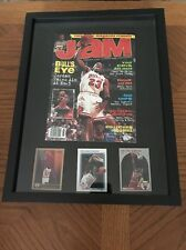 1996 JAM BASKETBALL MAGAZINE WITH CHICAGO BULL NBA STAR MICHAEL JORDAN Mancave