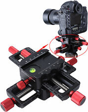 Macro Focusing Rail Slider Close-up Shooting Camera Bracket for Tripod Ball Head
