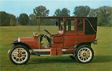 1910 PEERLESS LANDAULET ANTIQUE AUTOMOBILE CAR POSTCARD
