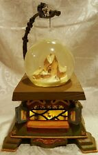 DISNEY  PINOCCHIO Light Up Snowglobe  ~ Jiminy Cricket ~Geppetto House RARE