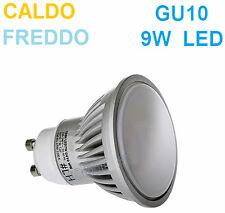 Lampada LED GU10,luce bianca,bianco freddo o caldo.Llampadina ,faretto GU10C 10c